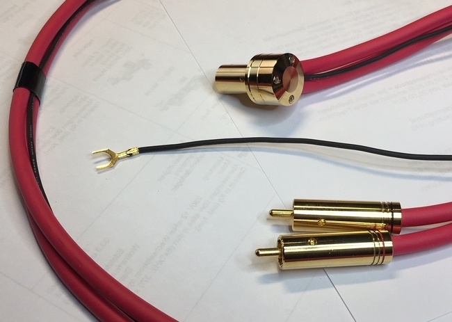 JELCO High End Tonearm cable