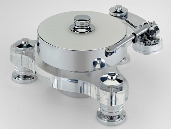 Transrotor Roindino FMD Bianco Plattenspieler