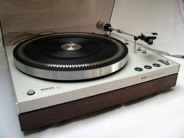 Philips 212 Plattenspieler