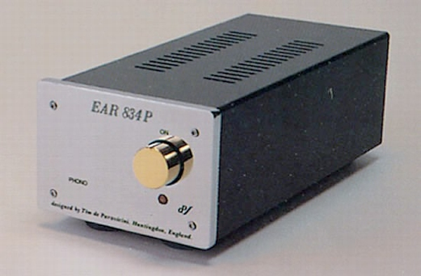 EAR 834P Chrome DeLuxe MM / MC Phono Preamplifier