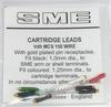 SME Reinsilber Tonabnehmer Kabel (4er Satz)  set